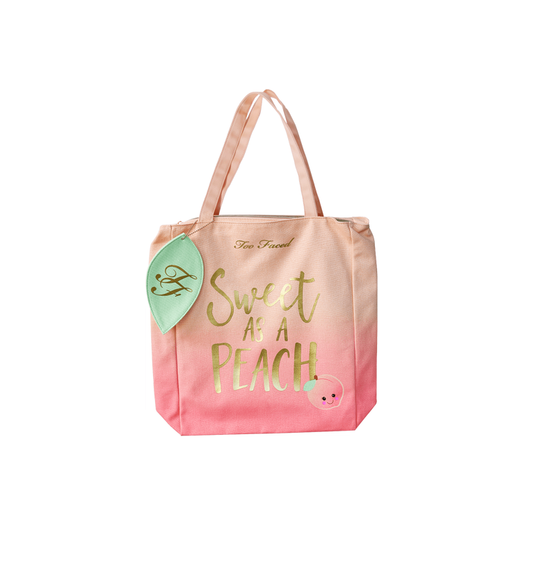 Mala Sweet as a Peach Tote TOO FACED