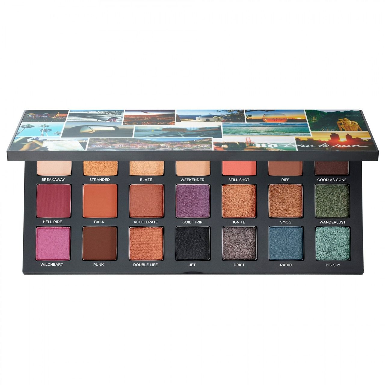 Paleta Born To Run Eyeshadow URBAN DECAY