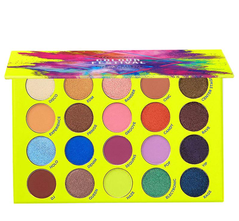 Paleta Colour Festival BH COSMETICS