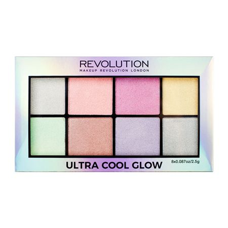Paleta de iluminadores Ultra Cool Glow  REVOLUTION