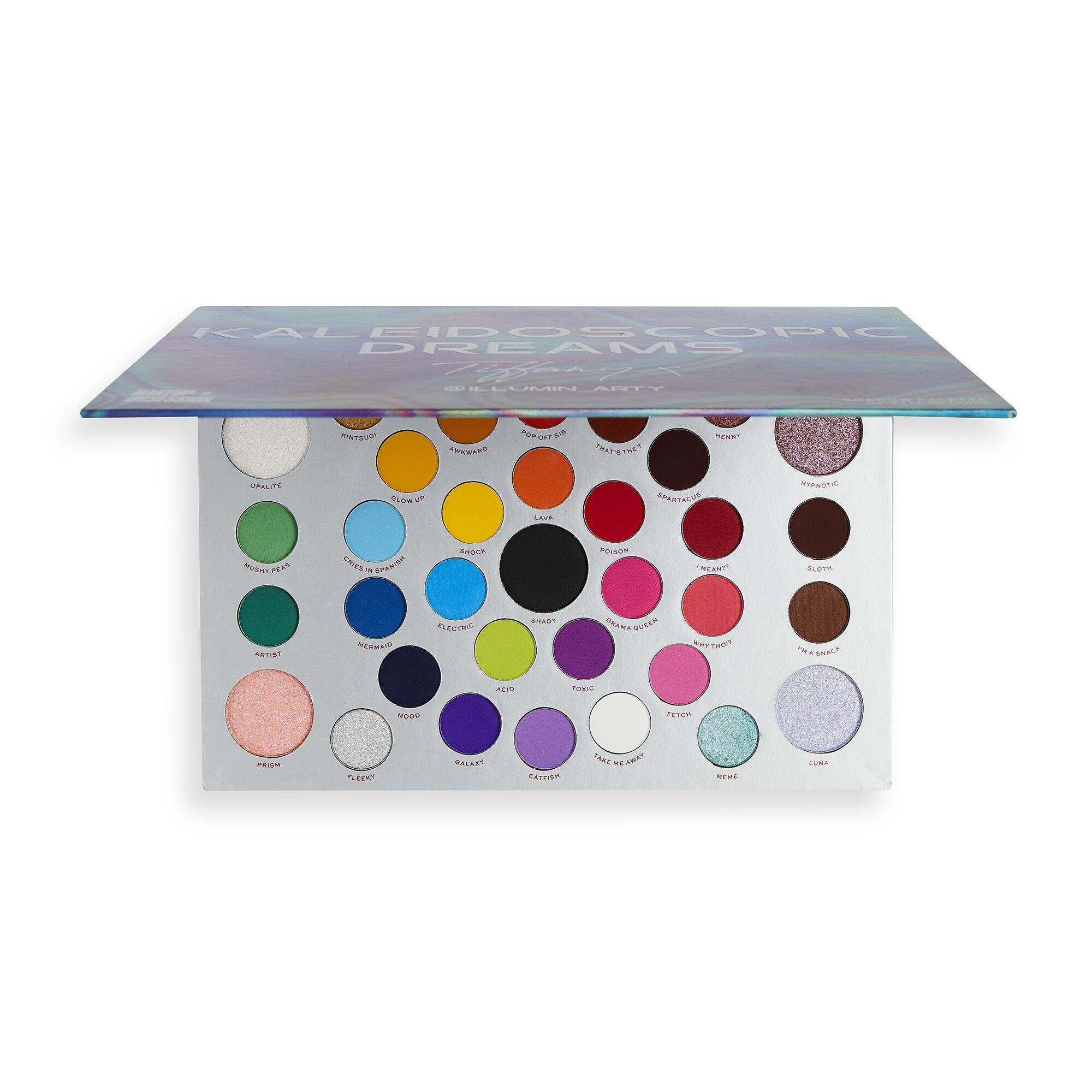 Paleta Kaleidoscopic Dreams Tiffany Illumin_arty X MAKEUP REVOLUTION