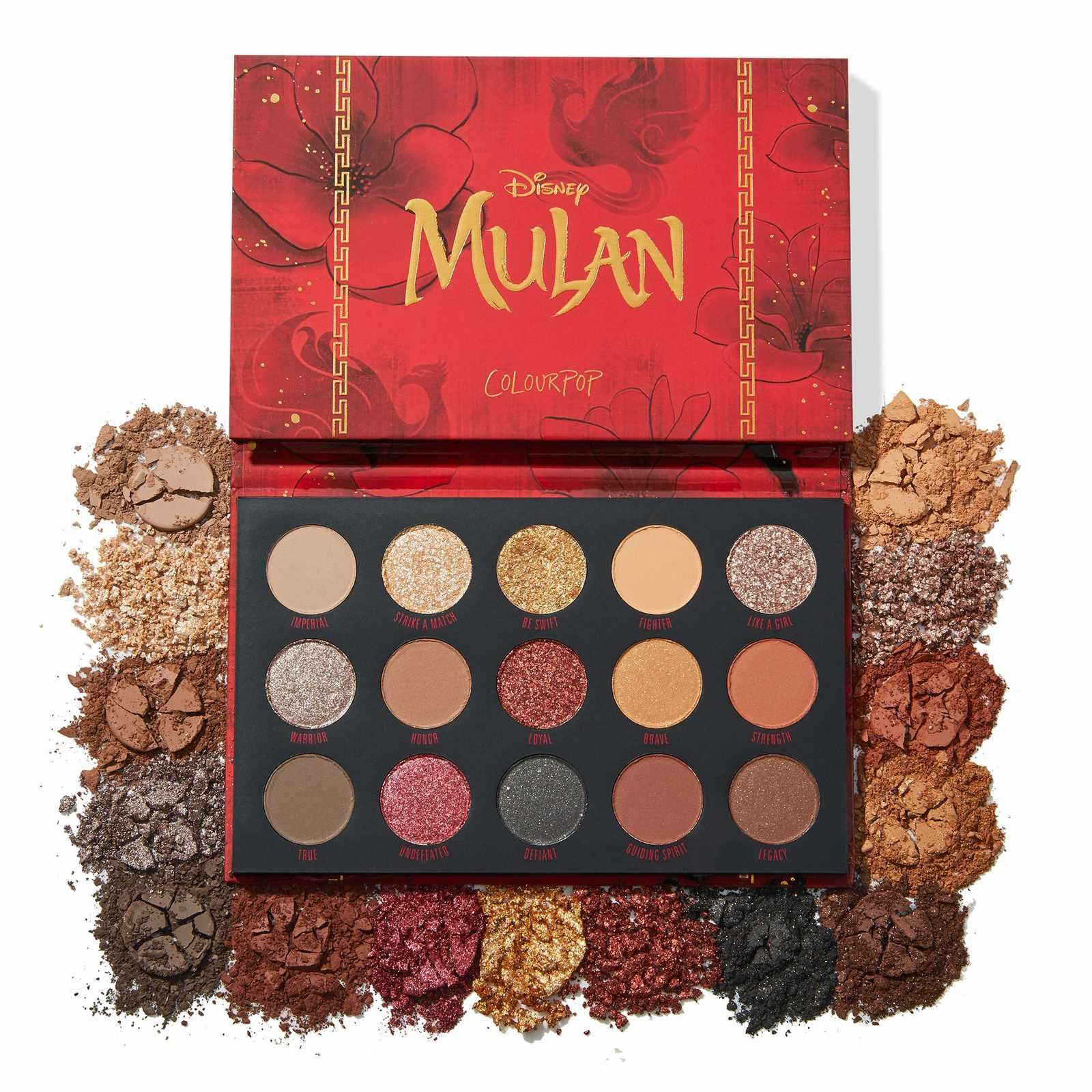 Paleta Mulan Disney Collection COLOURPOP