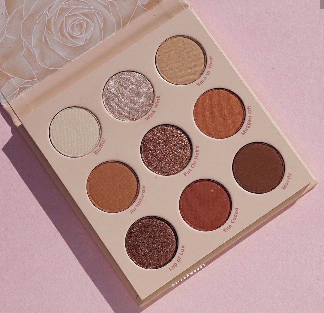 COLOURPOP BLUSH CRUSH & NUDE MOOD COLLECTION FOR SPRING