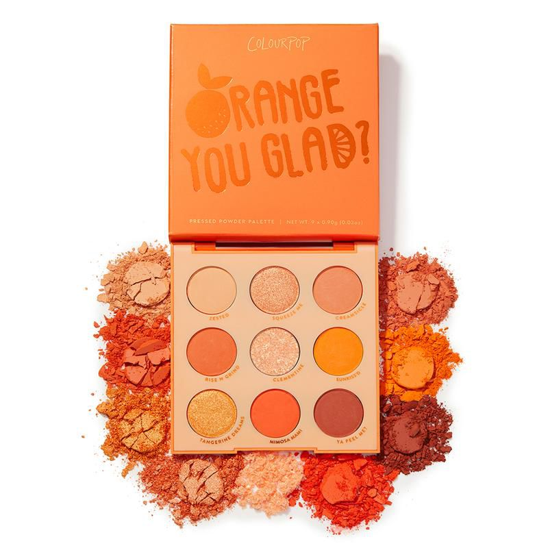 Paleta Orange You Glad? COLOURPOP