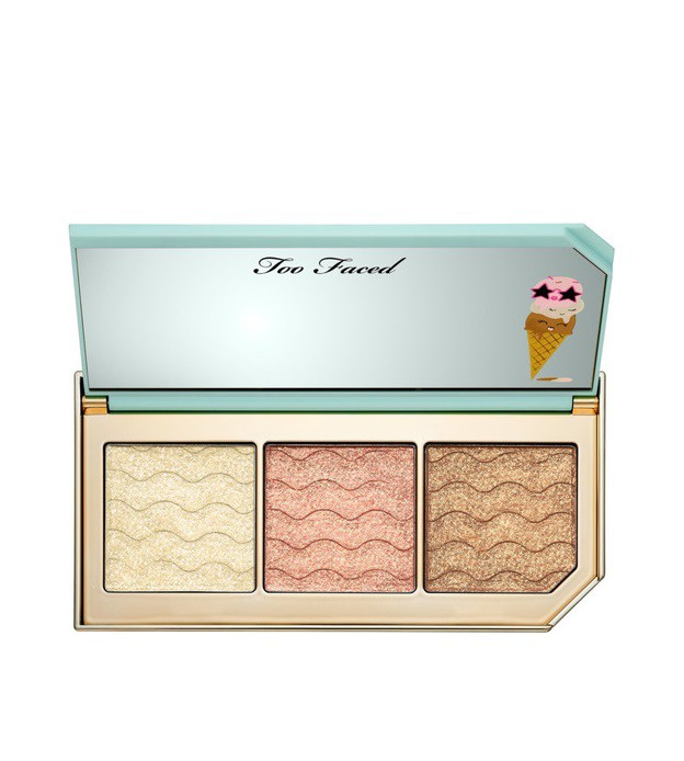 Paleta Triple Scoop Reflective Highlighting TOO FACED
