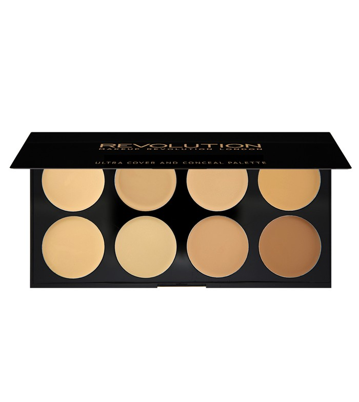 Paleta Ultra Cover and Conceal REVOLUTION