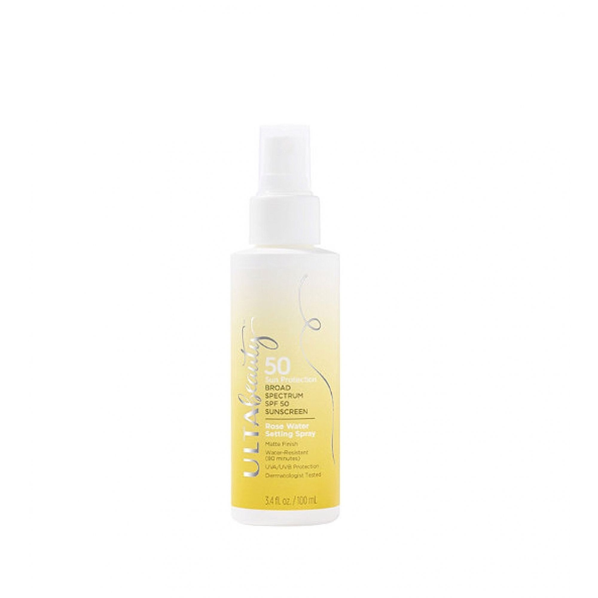 SPF 50 Sunscreen Rose Water Setting Spray ULTA