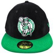 Boné New Era Boston Celtics NBA Aba Reta Fechado