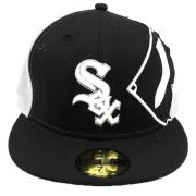 Boné New Era Chicago White Sox MLB Aba Reta Fechado