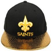Boné New Era Futebol Americano New Orleans Saints Aba Reta