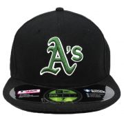 Boné New Era Beisebol Oakland Athletics Aba Reta Fechado