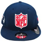 Boné New Era SnapBack New England Patriots Unissex
