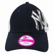 Boné New Era Feminino Beisebol New York Yankees Rede