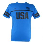 Camiseta Nike Dri Fit Running USA 812031-435 Masculino