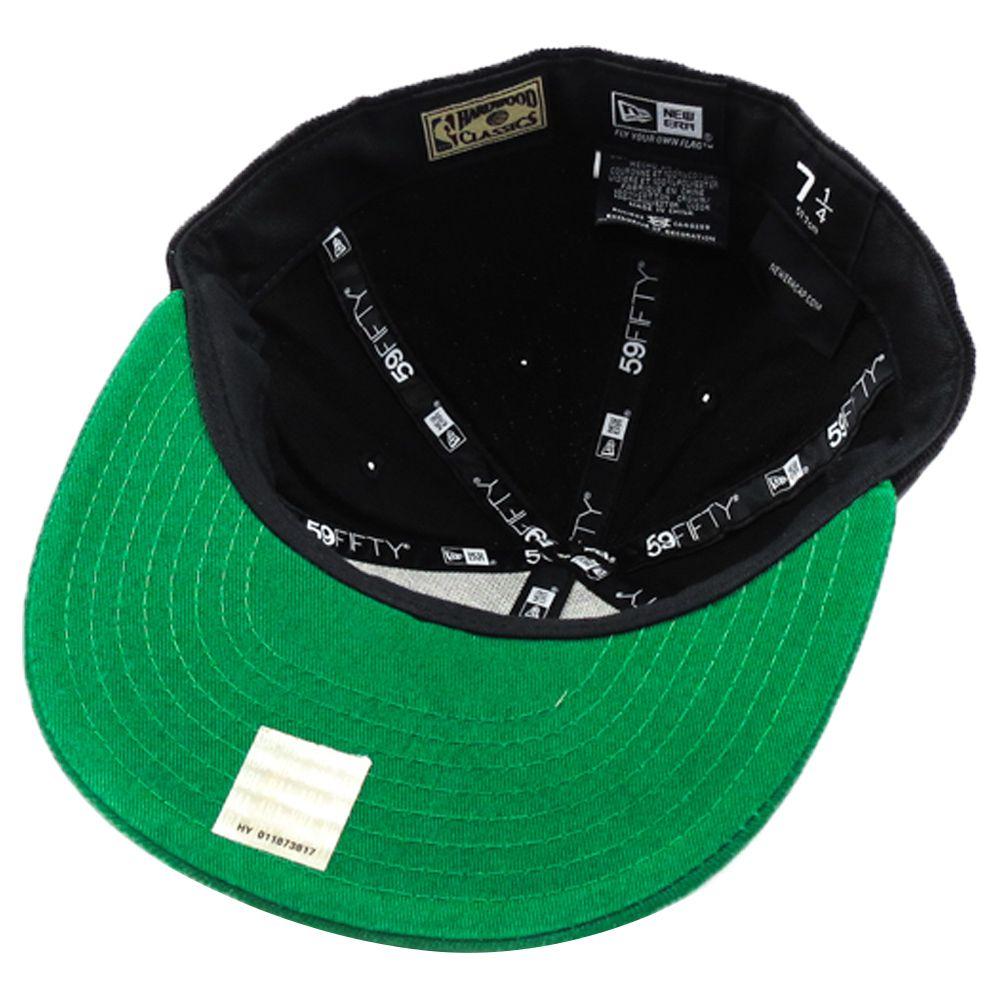 Boné New Era Boston Celtics NBA Aba Reta Fechado