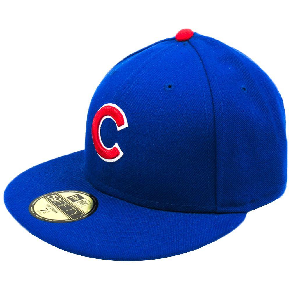 Boné New Era Chicago Cubs MLB Aba Reta Fechado