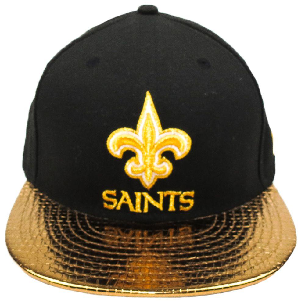 Boné New Era Futebol Americano New Orleans Saints Aba Reta