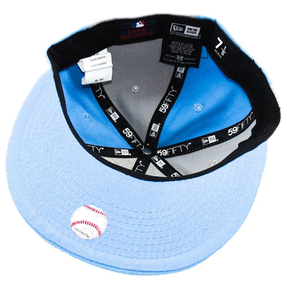 Boné New Era Beisebol New York Yankees Aba Azul Reta Fechado