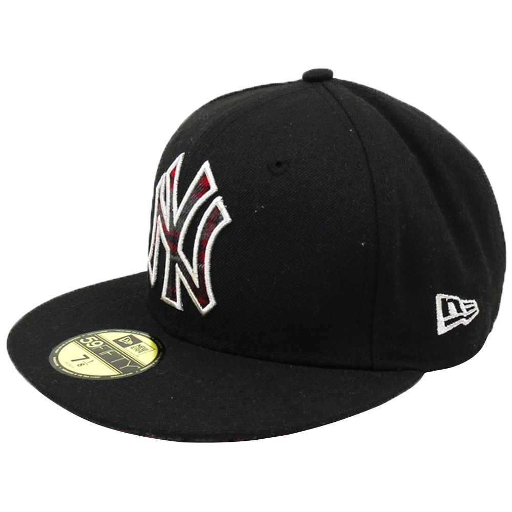 Boné New Era Beisebol New York Yankees Aba Reta Fechado