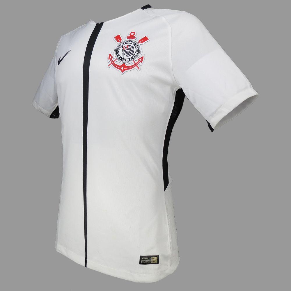 Camisa Corinthians I Nike Oficial 2017 847014-100 Masculino