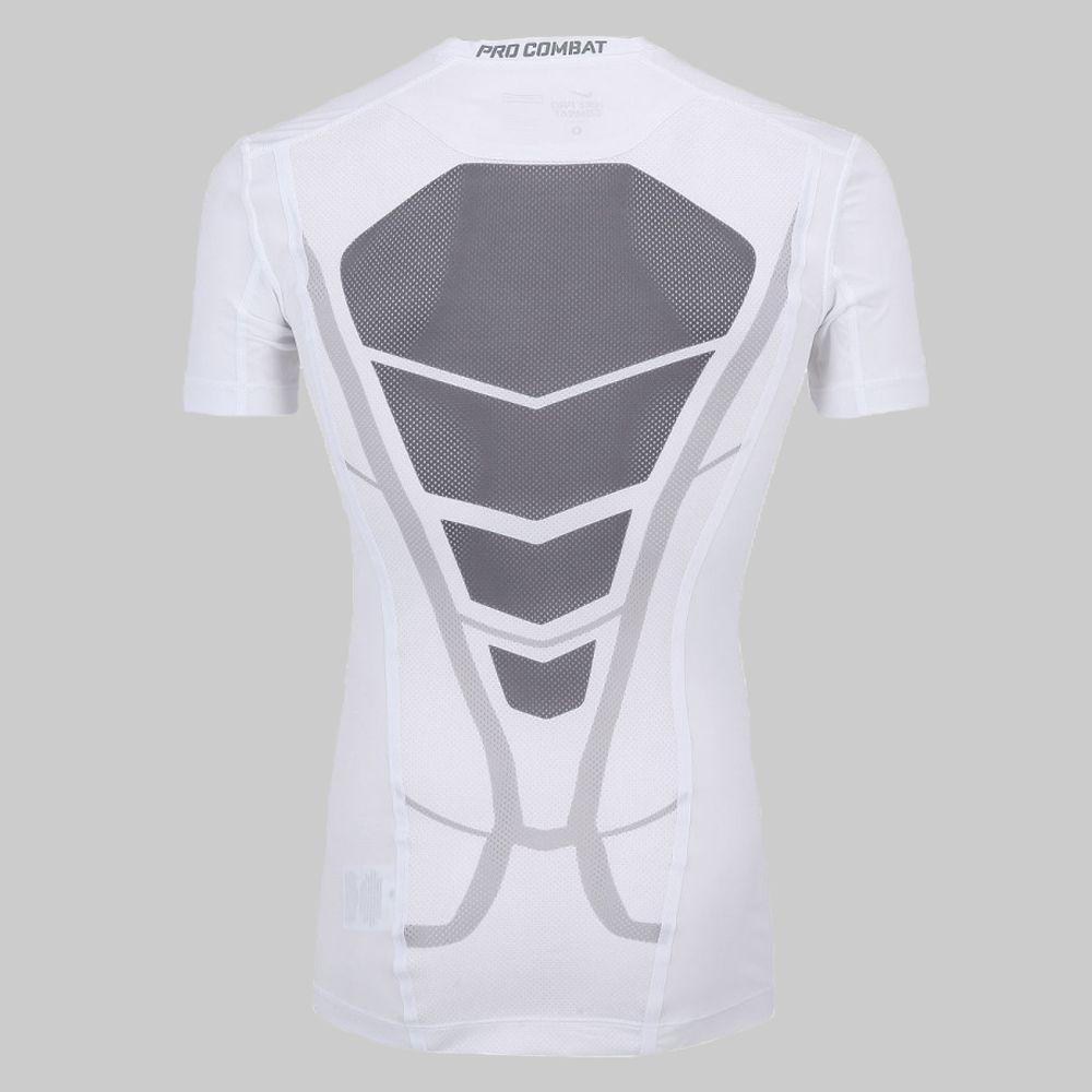 Camiseta de Compressão Nike Pro Combat Ultralight SS Top 597997-100 Masculino