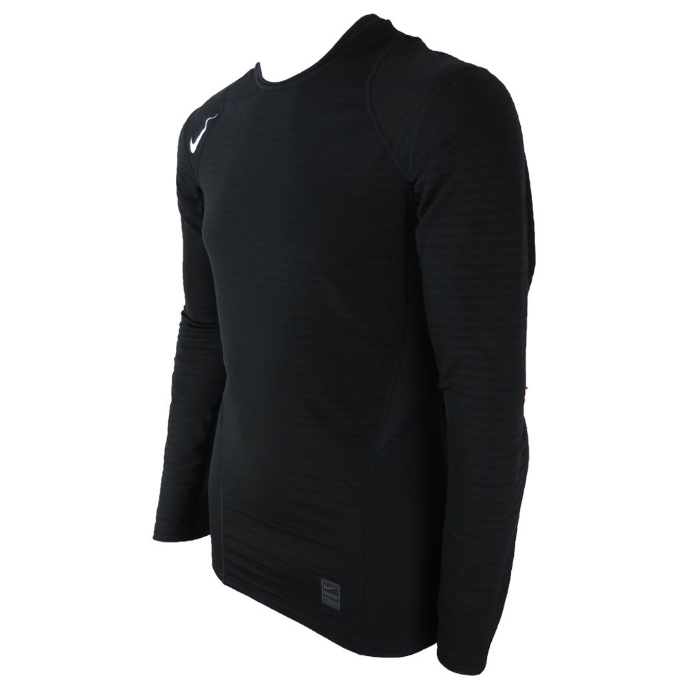 Camiseta de Compressão Nike Pro Warm Dry Fit Manga Comprida 725035-010 Masculino