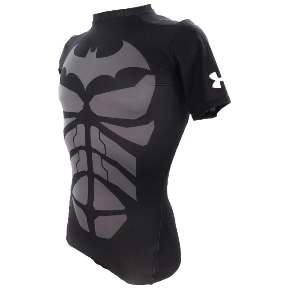 Camiseta de Compressão Under Armour Batman 1244399 Masculino