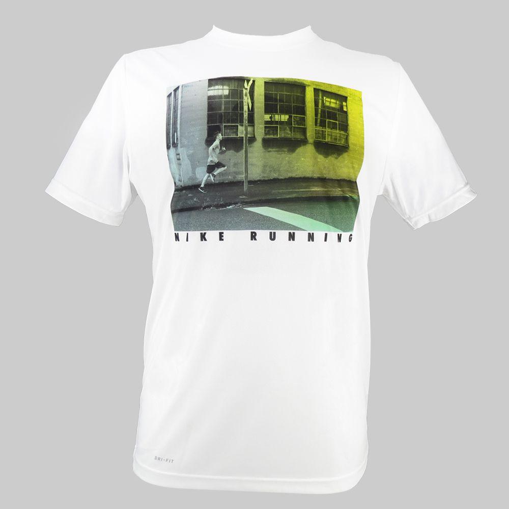 Camiseta Nike Challenger 1 Graphic 596189-100 Masculino