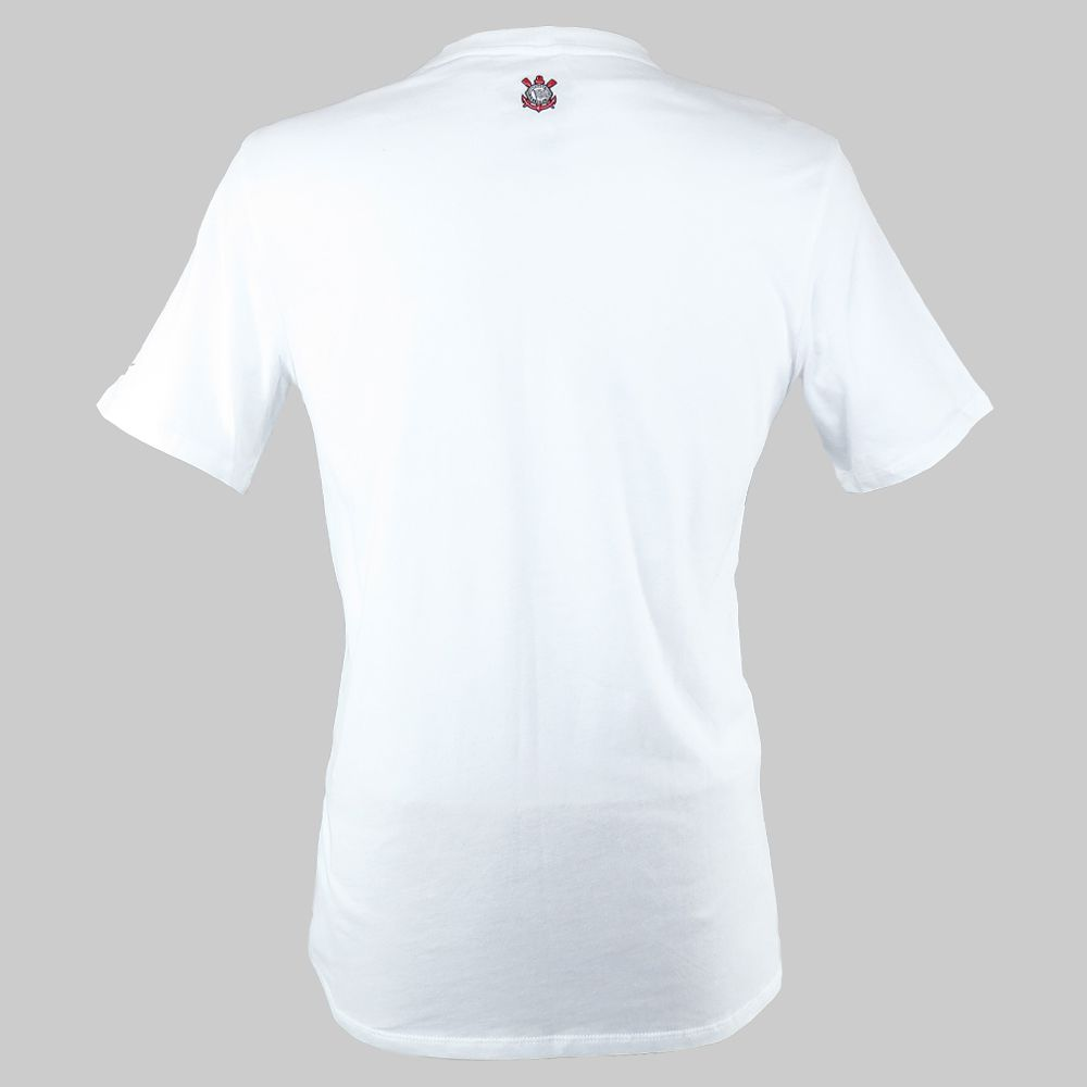 Camiseta Corinthians Core Plus Nike 689698-100 Masculino