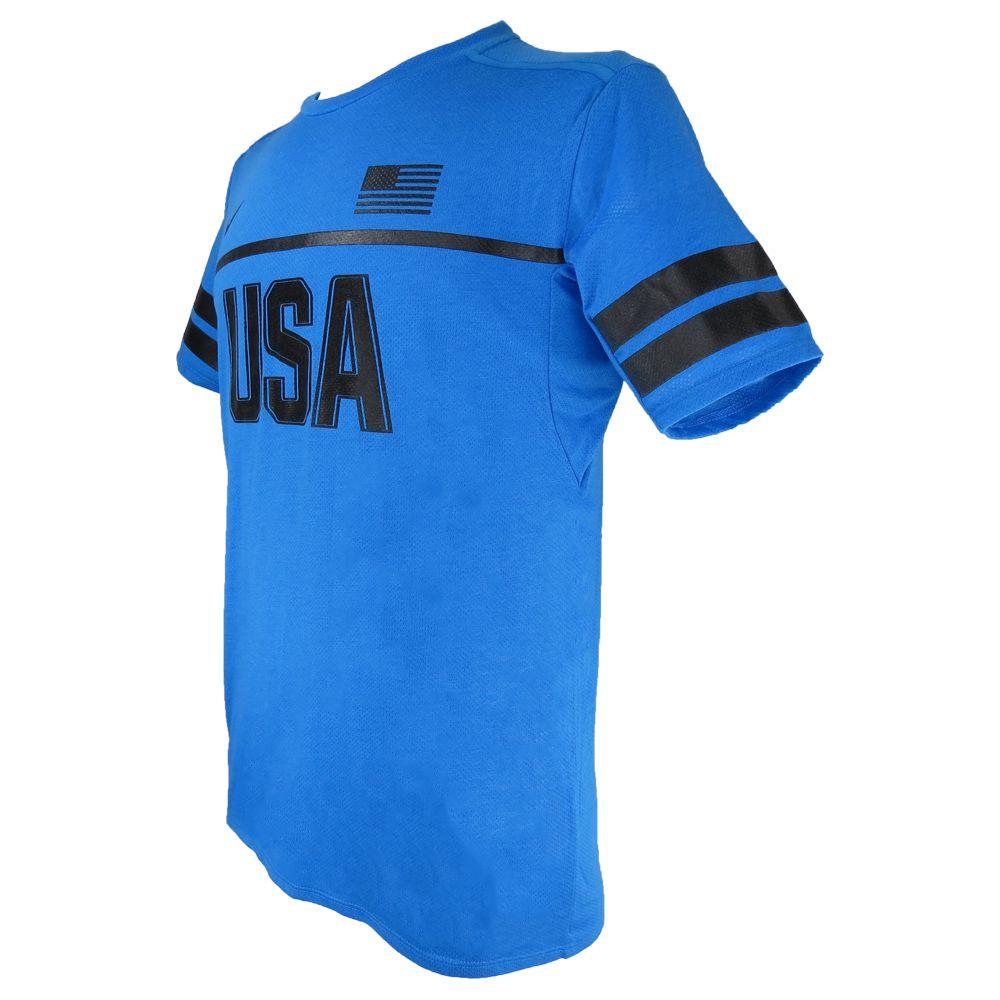 Camiseta Nike Dri Fit Running USA 812031-435 Masculino