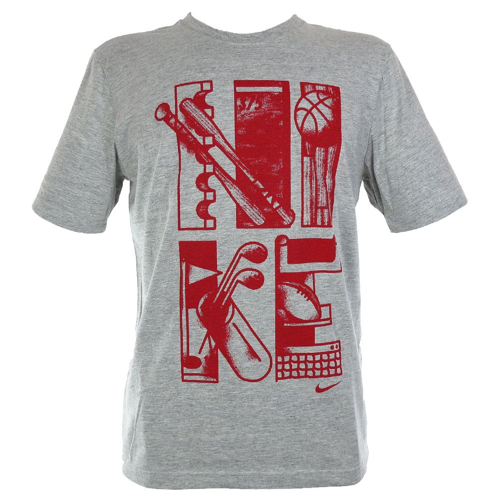 Camiseta Nike Estampa Esportes Americanos 637461-050 Masculino