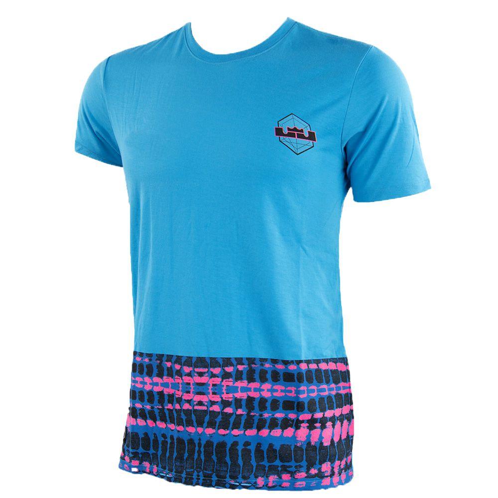 Camiseta Nike Lebron 23 Cromossomos 698670-407 Masculino