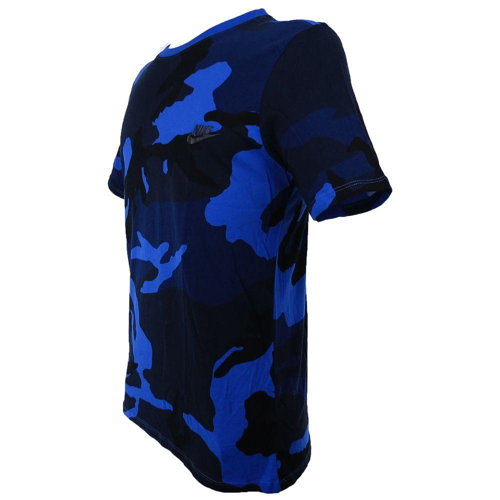 Camiseta Nike Tee Futura Camuflada 685391-480 Masculino