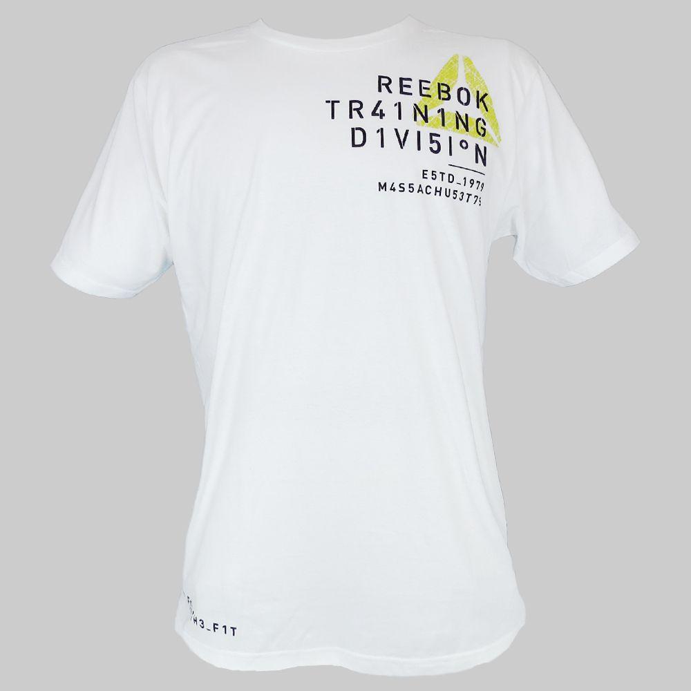 Camiseta Reebok Treino Slim Z92335 Masculino