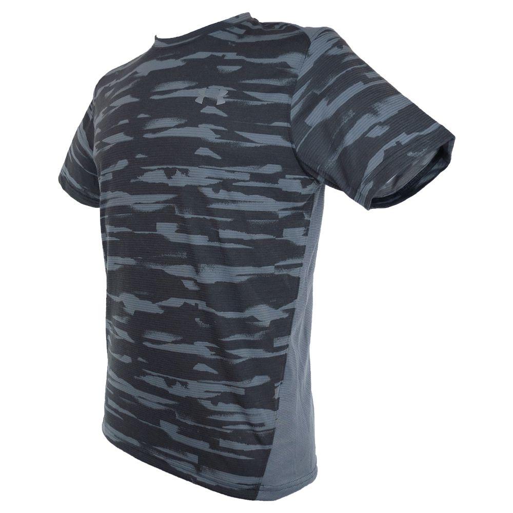 Camiseta Under Armour Heatgear Threardborne Run Mesh SS 1298851-008 Masculino