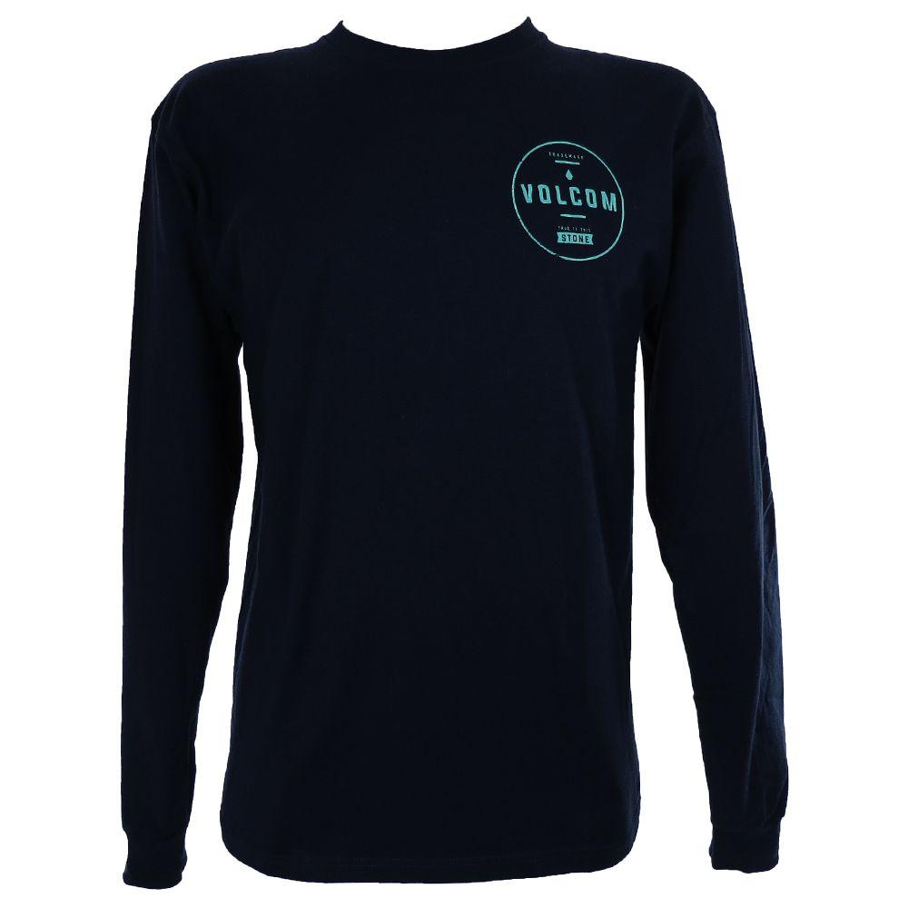 Camiseta Volcom Circle Kirk  Manga Longa A364162V Masculino