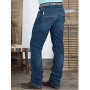 Calça Jeans Cinch Silver Label Slim Fit Stone