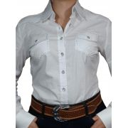 Camisa Feminina Alabama Stretch Lisa Strass Ref. 302.033-001