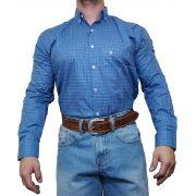 Camisa Masculina Minuty Country Azul Ref. 2910