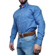Camisa Masculina Minuty Country Azul Ref. 2910