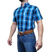 Camisa Masculina Minuty Country Manga Curta Ref. 2501