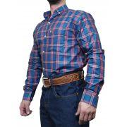 Camisa Masculina Minuty Xadrez Ref. 2500