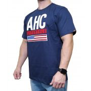 Camiseta All Hunter Azul Marinho Ref. 800 Silk Premium