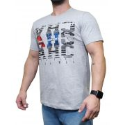 Camiseta All Hunter Cinza Mescla Ref. 627 Silk Jack