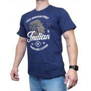Camiseta Indian Farm  Azul Marinho Ref. Goods Clothing