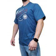 Camiseta Indian Farm Azul Ref. Outdoor