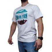 Camiseta Indian Farm Branca Ref. Wild Horses Race