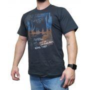 Camiseta Indian Farm Cinza Escuro Ref. Cactos