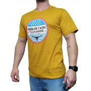 Camiseta Indian Farm Mostarda Ref. Rodeo Texas