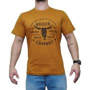 Camiseta Indian Farm Mostarda Ref.  Wild West